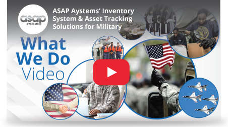inventory asset tracking military video image