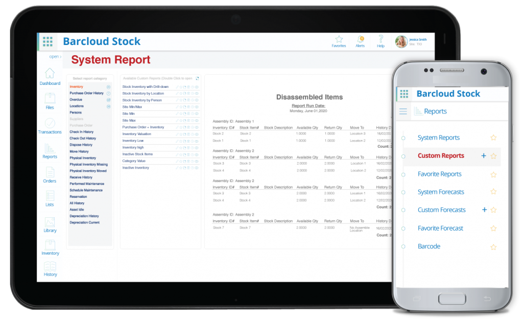 inventory system report image1