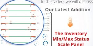Visualize Inventory Levels with our Min/Max Status Scale