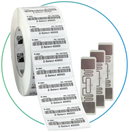 Barcode Labels available with this Inventory System