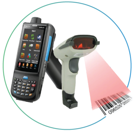Inventory System with Barcode Scanners