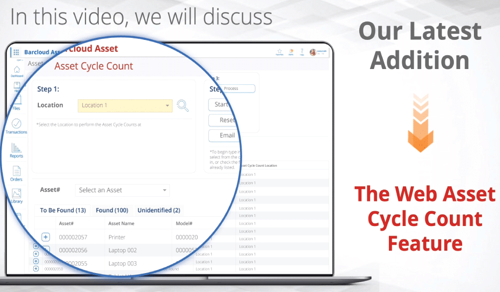 Asset Tracking - Asset Cycle Count - v149