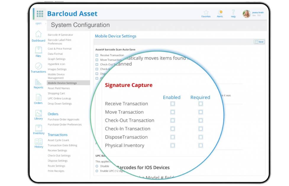 Asset Tracking Signature Capture Image2