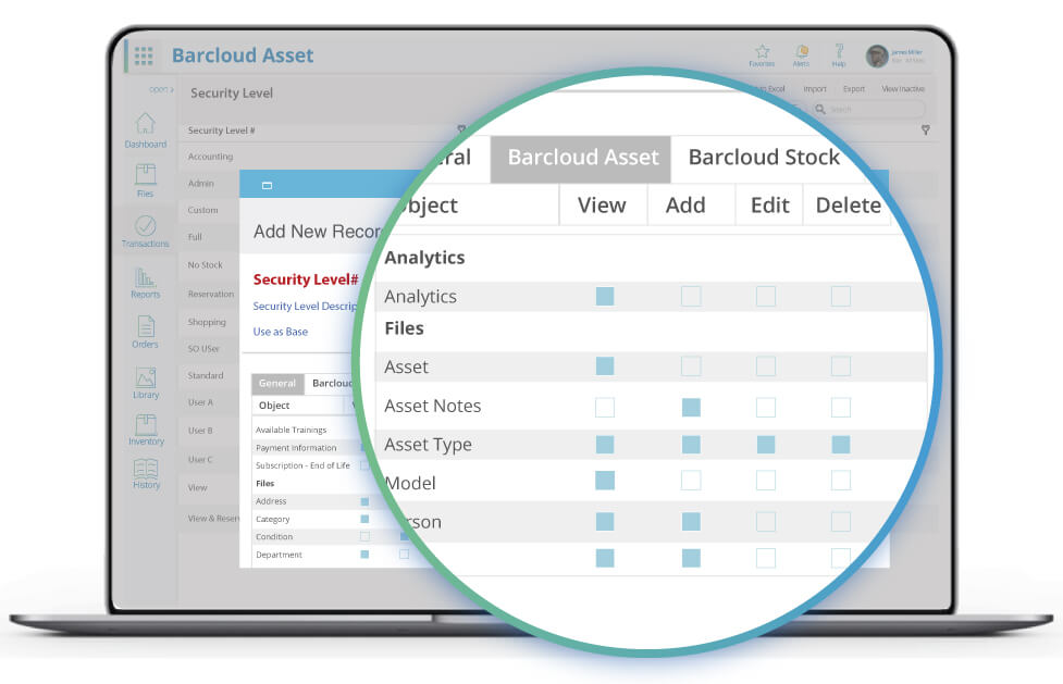 Asset Tracking User Security Image2