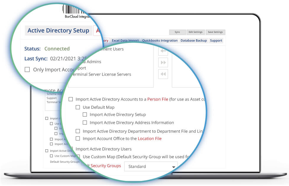 inventory system asset tracking active directory image