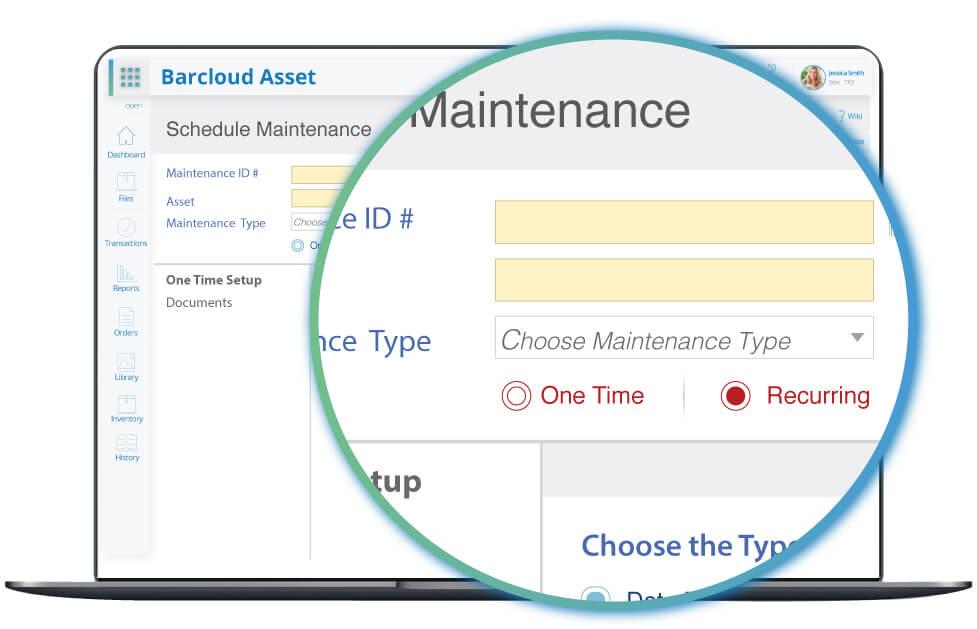asset tracking maintenance image