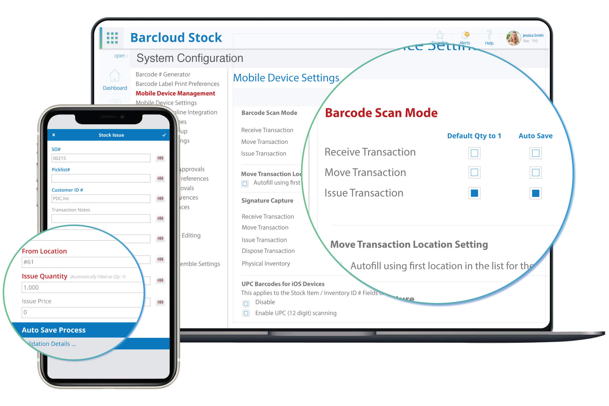 inventory system mobile app image