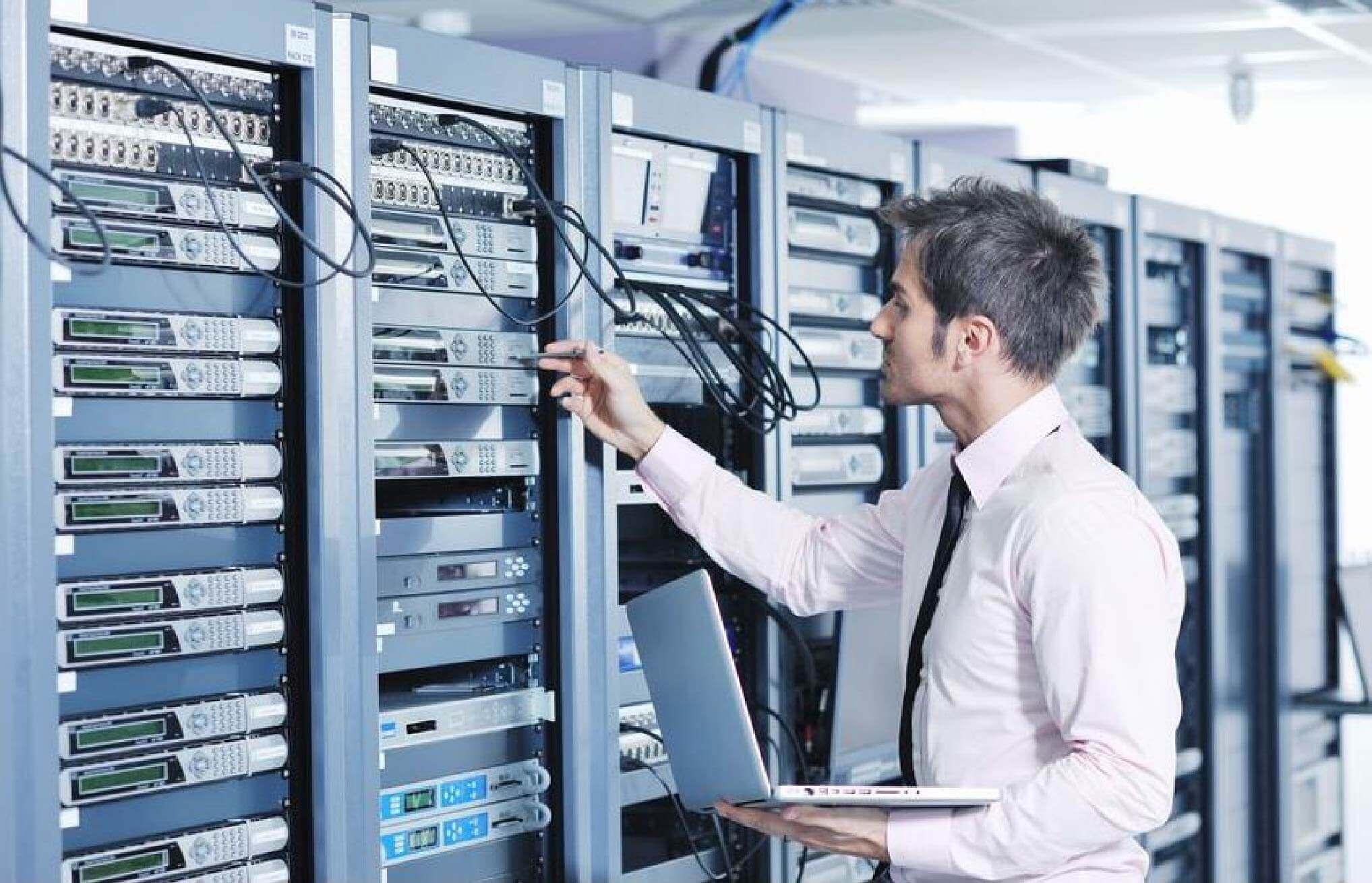 Asset tracking information technology image
