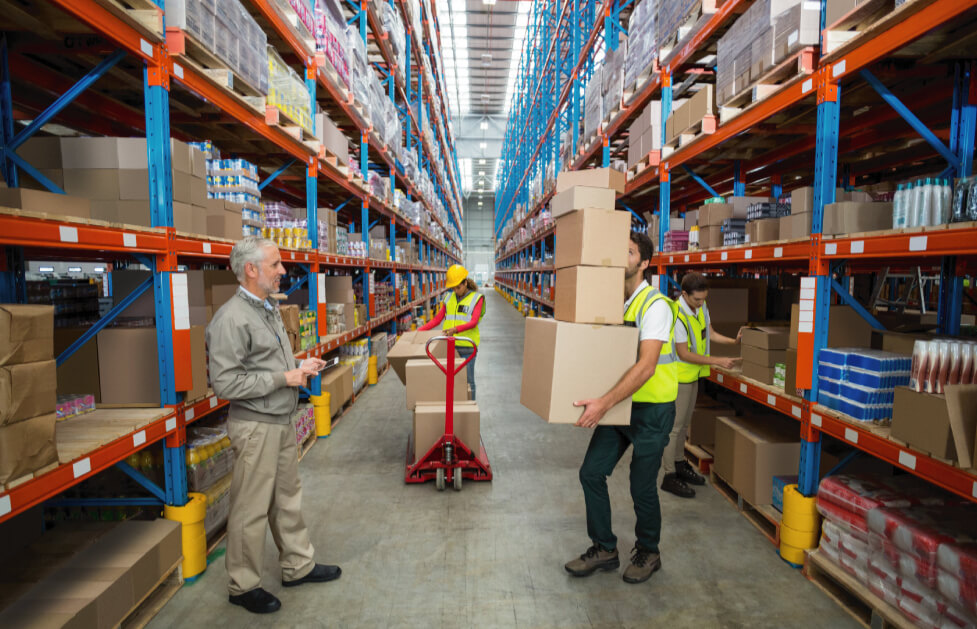 Warehouse System Tracking Inventory